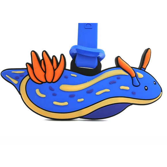 Bruno Nudibranch Luggage Tag