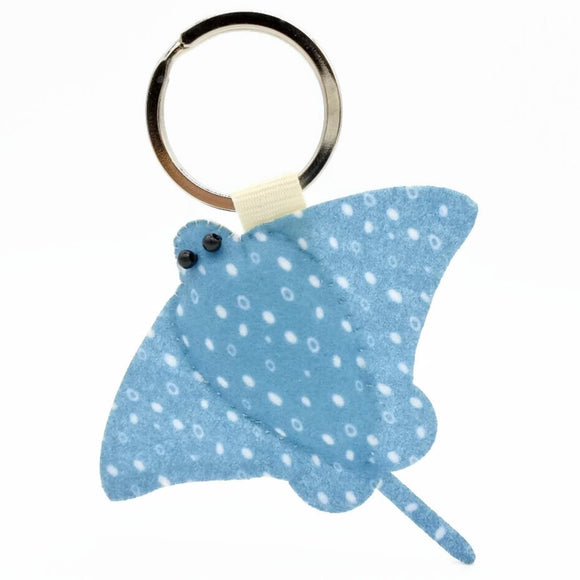 Earlgrey Eagle Ray Keychain