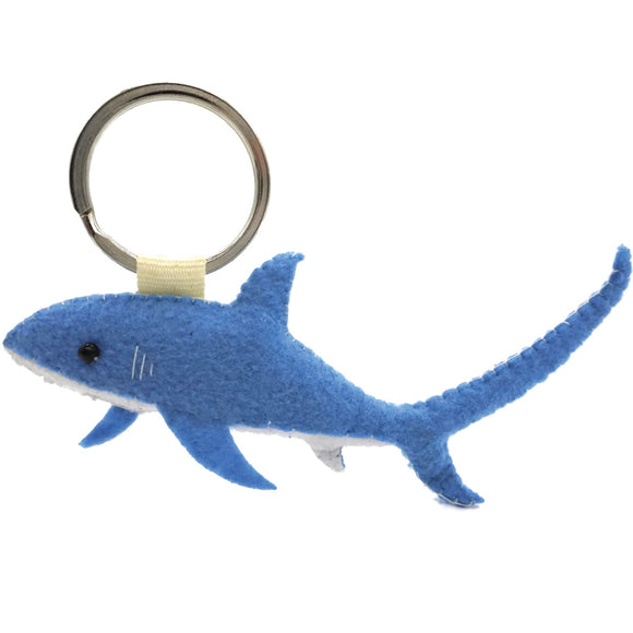 Taylor Thresher Shark Keychain