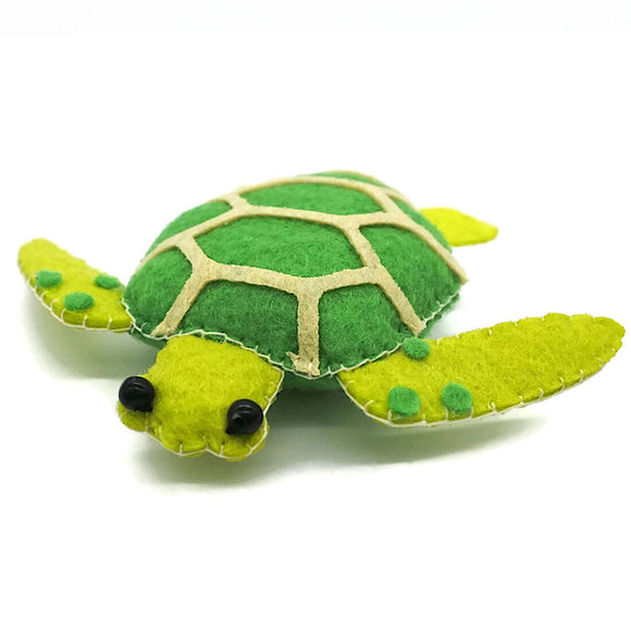 Sunny Green Sea Turtle Magnet
