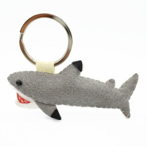 Bruce Black Tip Reef Shark Keychain