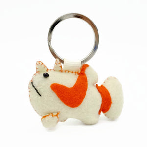 Warty Frogfish Keychain