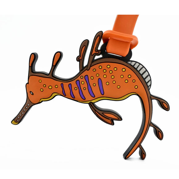 Weedy Seadragon Luggage Tag