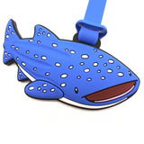 William Whale Shark Luggage Tag
