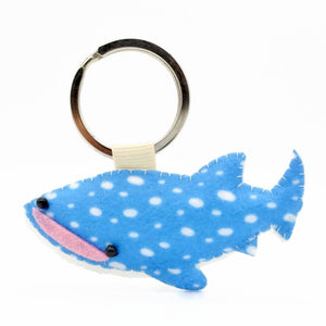 William Whale Shark Keychain