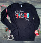 Christmas Vibes-Long Sleeve