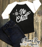 No Chill Toddler Raglan