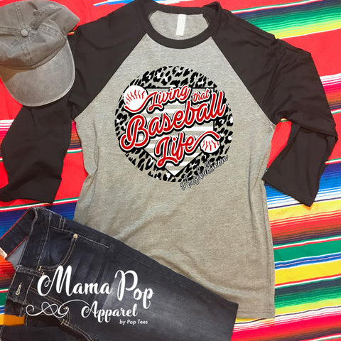 Baseball Mom-Unisex Raglan