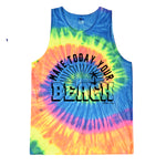 WHOLESALE Make Today Your Beach-rainbow tank
