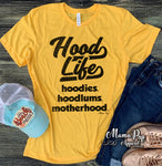 **Minimum 6 Pieces per Design** HOOD LIFE