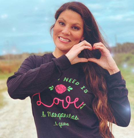 Love & Margaritas- Long Sleeve