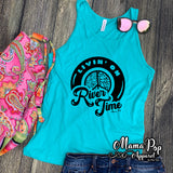**Minimum 6 Pieces per Design** River Time-tank top