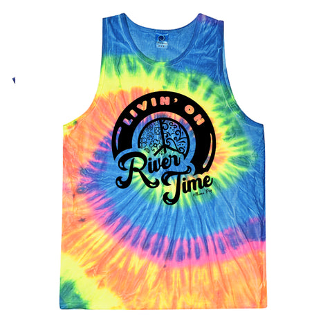 **Minimum of 6 pieces** River Time-neon rainbow tank