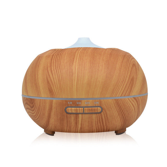 Wood Grain Essential Oil Ultrasonic Diffuser