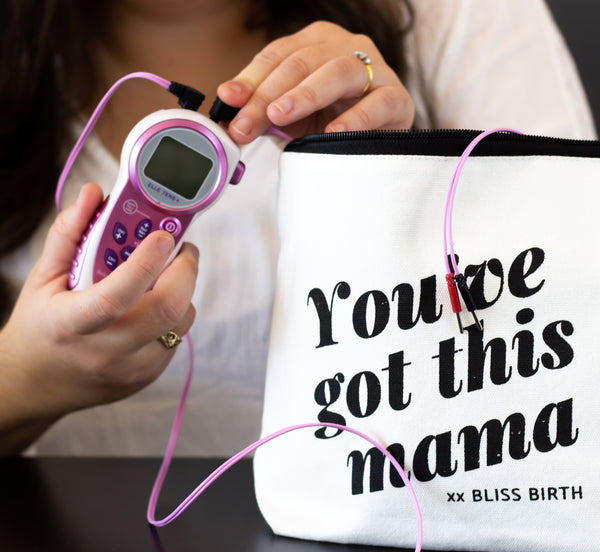 free gift you've got this mama bag with tens machine hire australia for labour and birth melbourne sydney brisbane gold coast perth