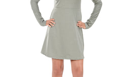 Grey Stretchable Bodycon | Full Sleeves for women