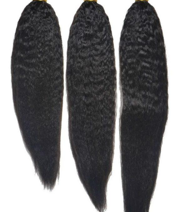 Brazilian Kinky Straight 3 Bundles Deal