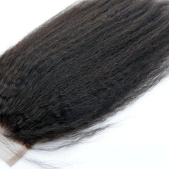Brazilian Kinky Straight Closure