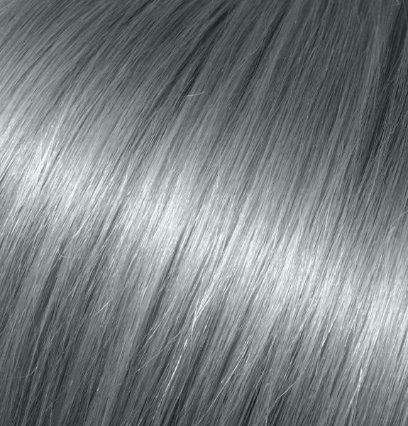 Platinum Gray Clip-In Extensions