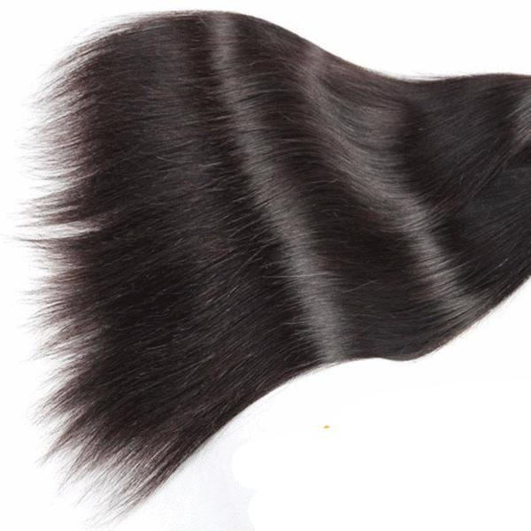 Brazilian Silky Straight 360 Lace Frontal