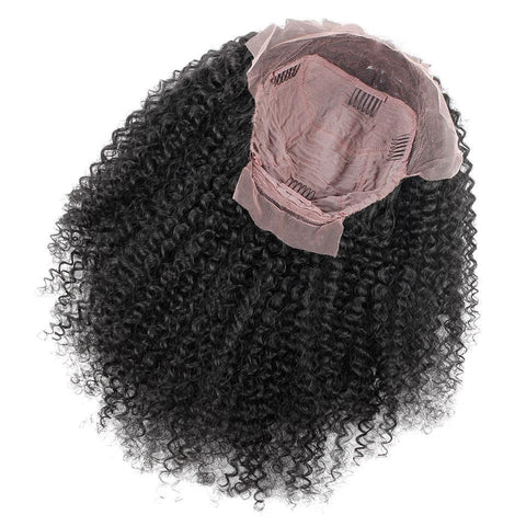 Malaysian Curly Virgin  Front Lace Wigs