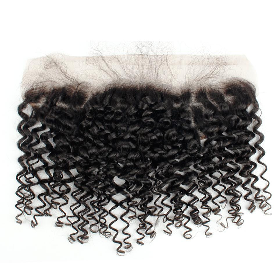 Malaysian Curly Virgin Hair Lace Frontal
