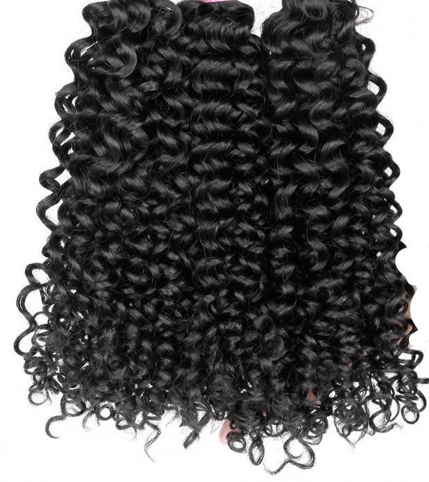 Malaysian Curly Virgin Hair 3 Bundles Deal