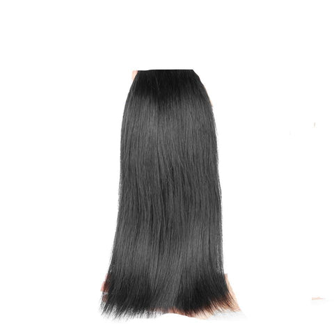 Brazilian Silky Straight 3 Bundles Deal with 4x4 Lace Closure
