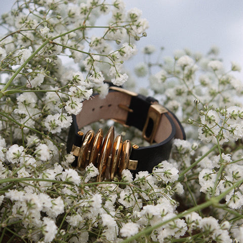 C.W. James Selene bracelet in flowers