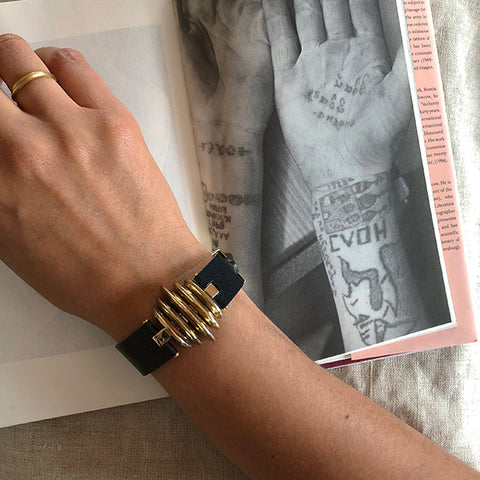 Selene bracelet by C.W. James with book