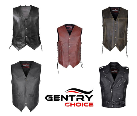 Leather Vests Collection