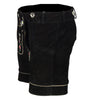 Women Lederhosen Short Black