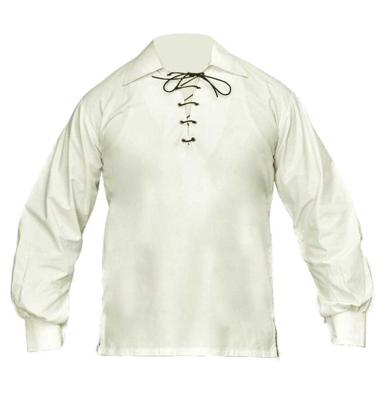 Jacobite Ghillie Shirt Cream