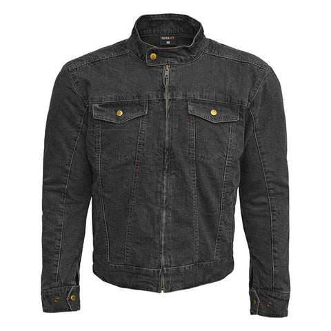 RIDERACT™ Reinforced Denim Jacket RoadRush Black