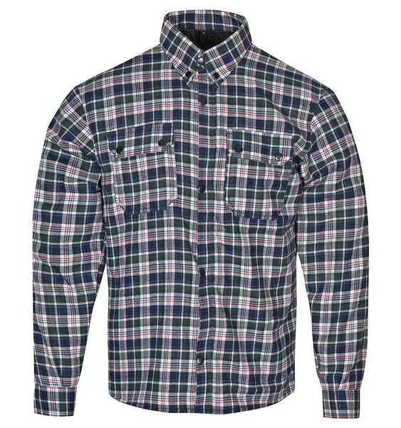 RIDERACT™  Flannel Riding Shirt Box Checkered