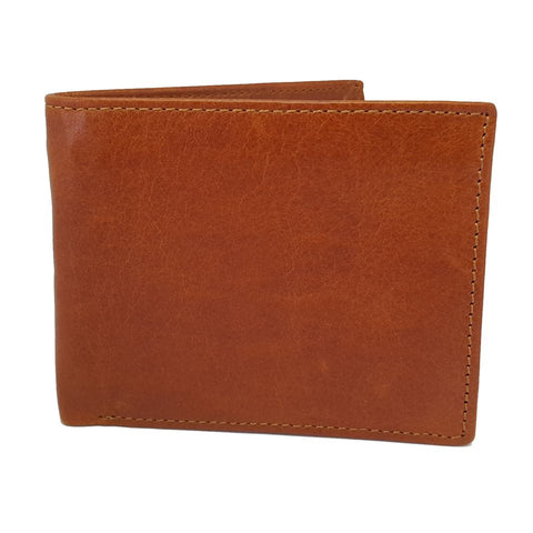 Bi Fold Stylish Authentic Leather Brown Wallet