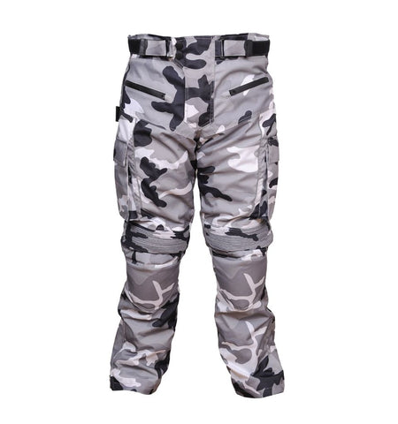 motorcycle pants Camouflage Motorcycle Safety Men Cordura Pant Green