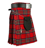 Royal Stewart Tartan red Kilt