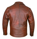 Marlon brando brown jacket modified version back side