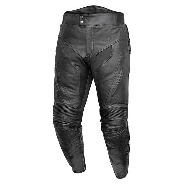 RIDERACT™ Leather Motorcycle Pant Venture