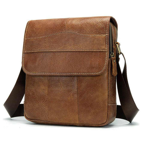 Crossbody Leather Shoulder Bag Zenta