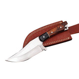 Handmade D2 Stainless Steel Hunting Knife with Sheath