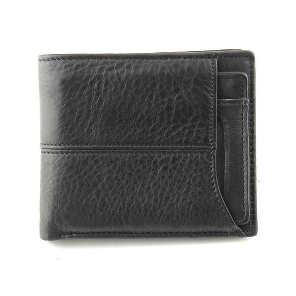 Leather Bi fold Wallet with Removable Card Holder Men
