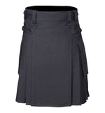 Scottish Utility Black Kilt