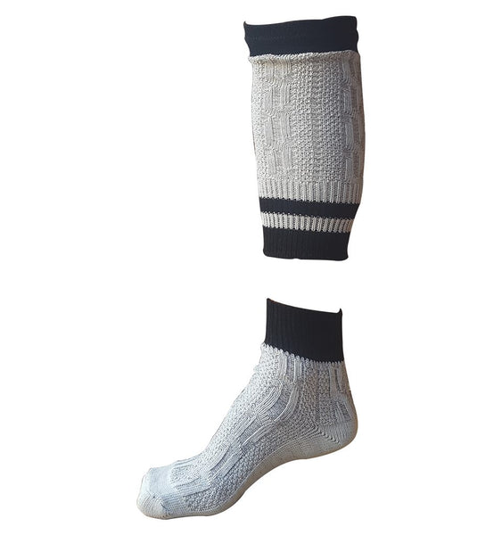 two piece bavarian socks