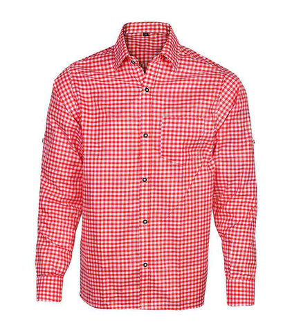 Bavarian Shirt Red Berry