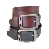 Vintage Genuine Leather Premium Quality Casual Suiting Formal Dress Belt