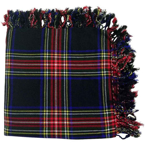 Tartan Fly Plaid Black Stewart