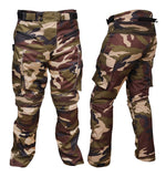 motorcycle pants Men's Motorcycle Textile Cordura Waterproof Camouflage Green Pant