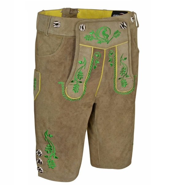 Men Lederhosen